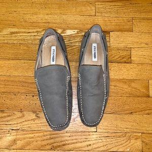 Men's Steve Madden Grey Loafers (Size 12)